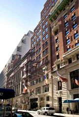 West 44th Street, The Club Row Building office space