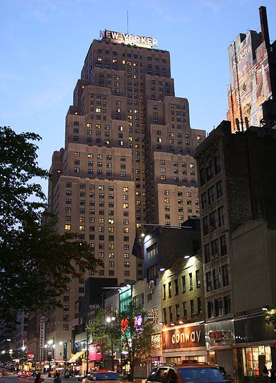 481 Eighth Avenue, New Yorker Hotel office space for lease