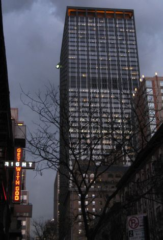 1633 Broadway, Paramount Plaza office space for lease
