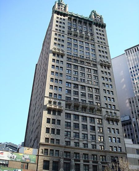 15 Park Row, Park Row Building office space for lease