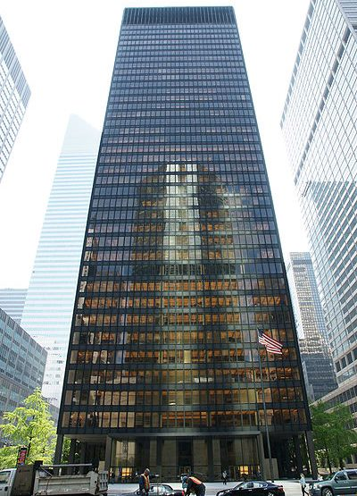 375 Park Avenue,The Seagram Building office space for lease
