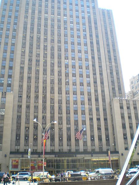 1230 Avenue of the Americas, Simon & Schuster Building Office Space