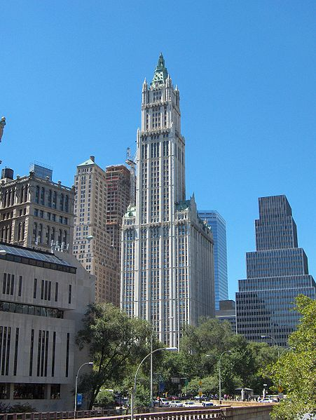 233 Broadway, Woolworth Building office space