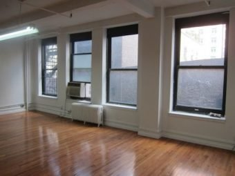 121 West 27th St., Open Loft Space with New Wood Floors