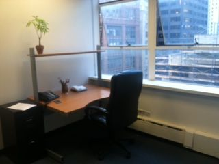 228 E. 45th St.: Two bright, newly renovated private window offices