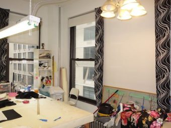 West 38th Street, 750SF, Small Office Rental, Hardwood Floors, Open Plan