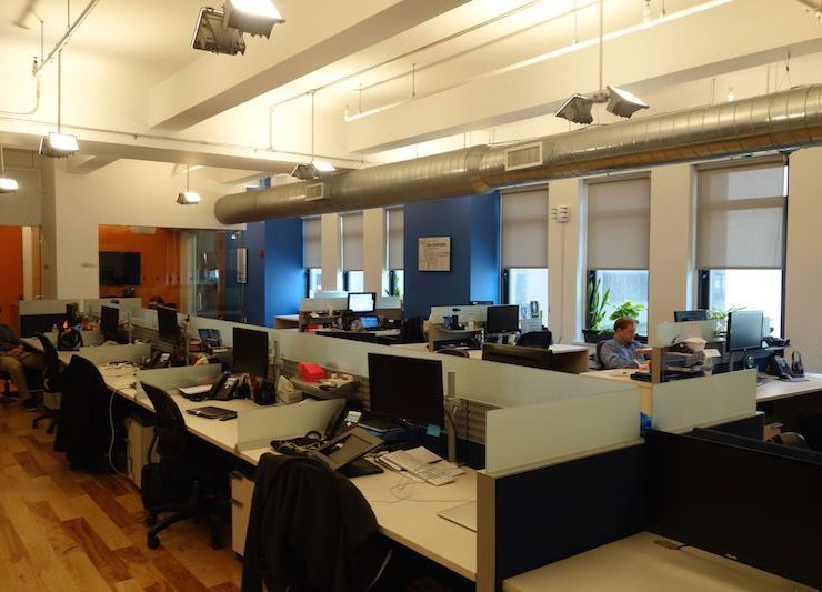 East 57th Street, Charming Loft Office with Exposed Ceilings