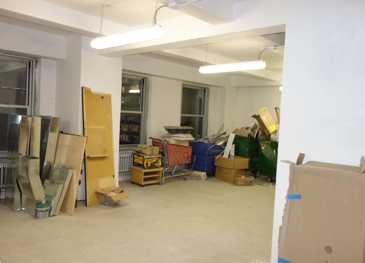 57th Street, Plaza District, 1,597 S.F. White Boxed Office Rental
