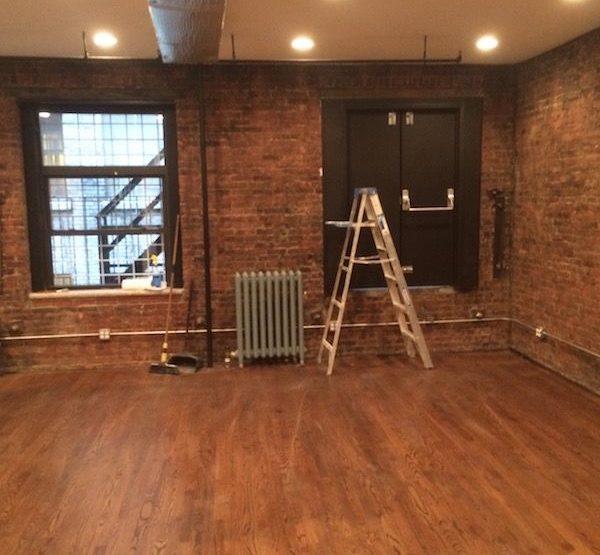 West 37th Street, Hardwood Floors, Brick Walls