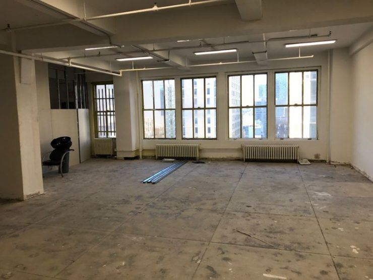 545 Eighth Avenue, Partial 19th Floor: Bright, Loft Style Office Rental