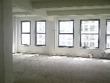Rent Office Space on a Full Floor Garment District Loft