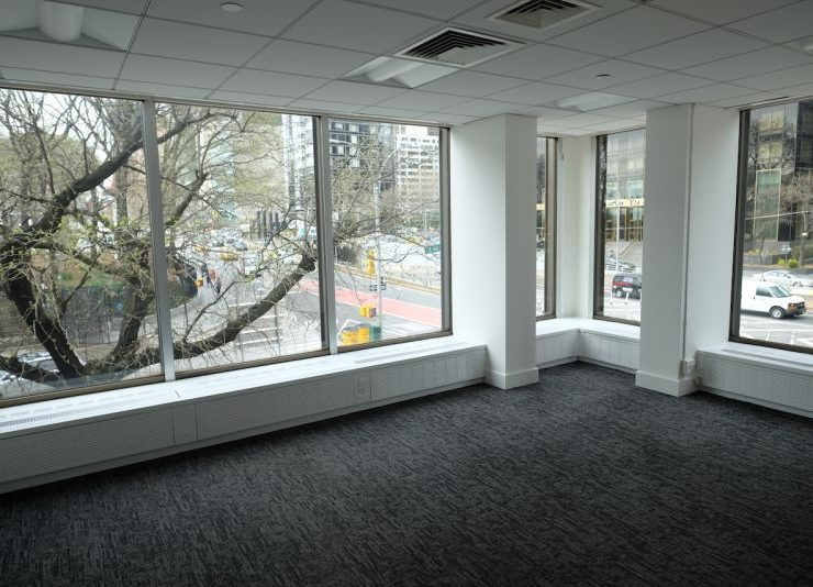UN Plaza Corner Office Rental, Views of East River & United Nations