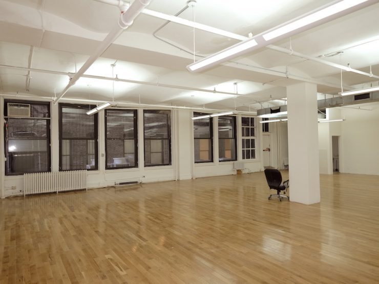 West 21st Street, Budget Office Space, Open Plan, Hardwood Floors