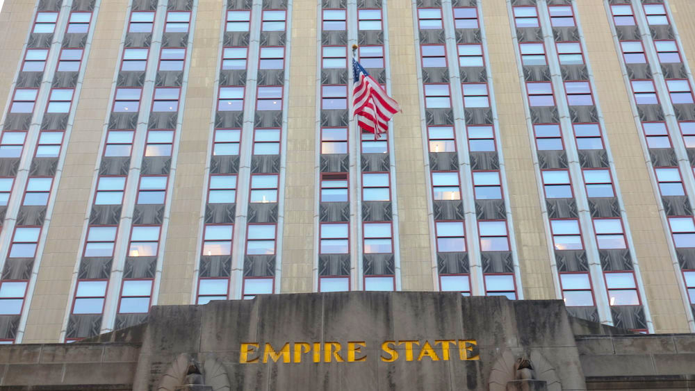 Fifth Avenue entrance of The Empire State Building