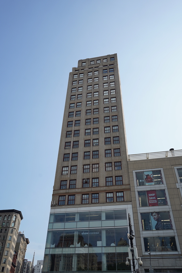 853 Broadway, Union Building Office Space