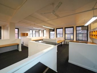 21 Street Near 6th Avenue, Bright Corner Office, Best Block in Chelsea